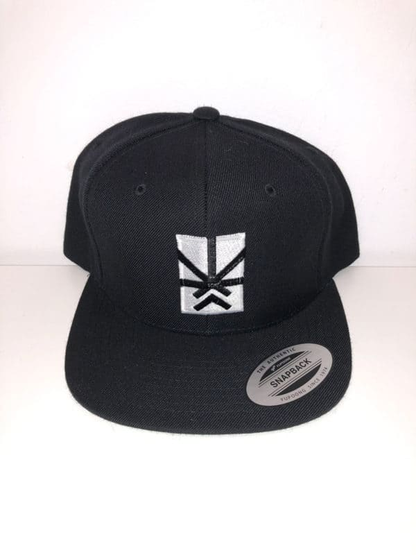 Black Cap with Project Cannabis logo on it