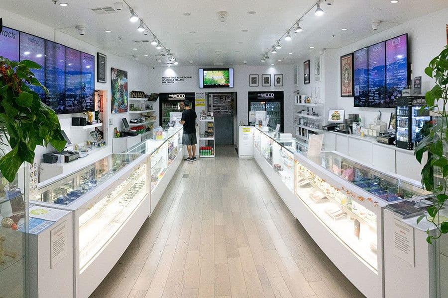 Cannabis store indoor
