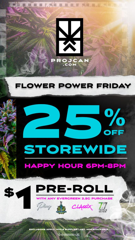 25% OFF Storewide 6-8pm.